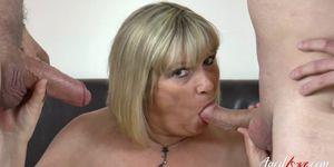 AgedLovE - Threesome Mature Hardcore Action