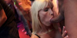 Awesome pornstars fuck in the club Porn Videos