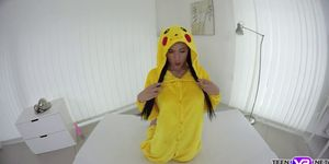 VR hot pokemon babe fuck her pussy with a toy Porn Videos