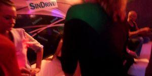 DRUNKSEXORGY - Trashy lesbians gets wild in a club