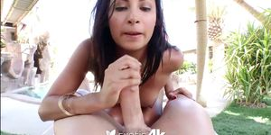 Brazilian babe with bouncy ass gets fucked hard