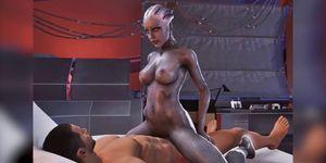 Big tits and ass Liara Tsoni getting fucked hard