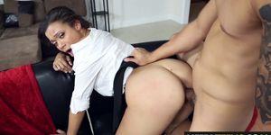New Sexy Suckretary Adrian Maya