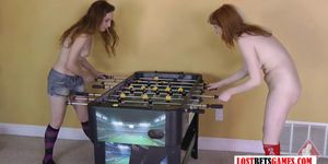 Strip Foosball has never looked so damn Hot