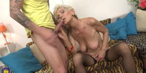 LUCINDA: Busty granny get fucked