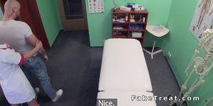 Kinky nurse bangs big cock in fake hospital Porn Videos
