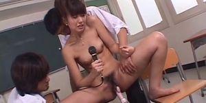 Amazing Japanese sex scenes with Misato Kuninaka_More at 69avs_com