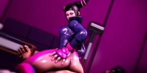 Sexy Juri Han getting pussy fucked well