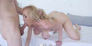 PUREMATURE Milf muff STUFFED by big dick with Brandi Love