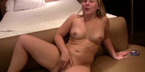 Big ass Blonde fingers her pussy Porn Videos