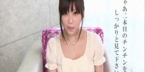 Riko Yamaguchi porn debut blow job