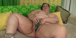 Fat Slut Kitty Nation Stimulates Her Plump Pussy with Sex Toys