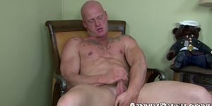 Amazing Blowjob With Two Hairy Hunks With Massive Cocks