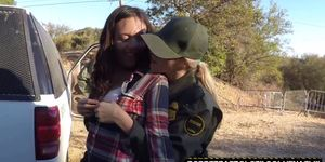 Illegal porn sex video - Fuck that illegal pussy officers