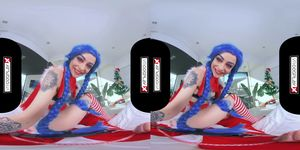 VRCosplayXcom Fill Jinx s Pussy With Your Hard Dick Santa