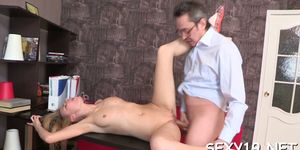 Mesmerizing Russian maid adores playing with her clit