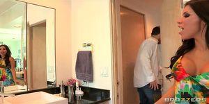 Brazzers - Beautiful big-booty wife Aleksa Nicole gets anal