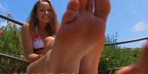 Kiralee\'s Super Cute Ticklish Feet