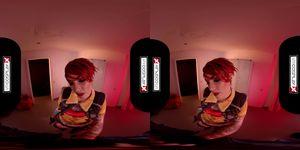 VRCosplayXcom Fucking Inked Redhead Latina Silvia Rubi As Lilith