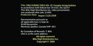 Girls Kissing Girls 2 -s1- Samantha Ryan & Jessica Bangkok
