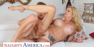 Briana Banks Fucks her Sons Best Friend