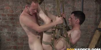 Bottom bitch Aaron Aurora gets freaky with Sean Taylor