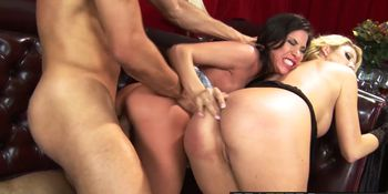 Brazzers - Big Tits In Uniform - Aleksa Nicole Courtney Taylor Danny Mountain - Welcome the Don