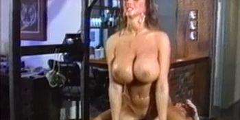 BDSM dyke Summer Cummings riding plastic cock hard