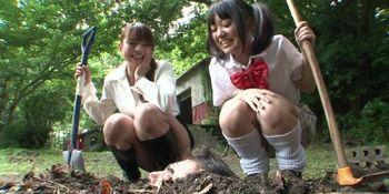 Subtitled Japanese principal outdoor burial pee baptism