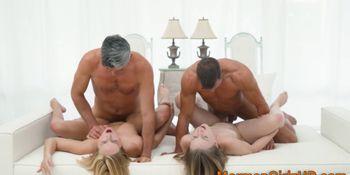 Mormon Sluts Fucking in Foursome