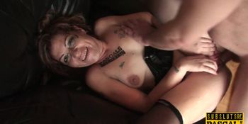 Mature British sub facefucked and analized