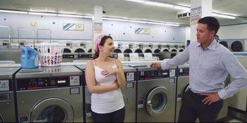Petite Teen Fucked in Laundromat