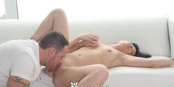 PASSION-HD Pierced tit FREAKY mix Asian fucks big dick