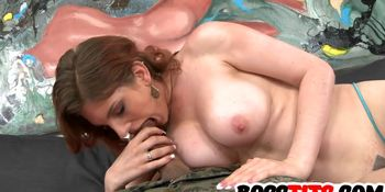 Bossy Breasts On Rainia Belle