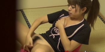 Rubbing asian ho watched