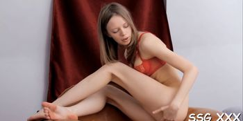 Fingering And Legs Wide Open