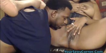 Ebony beginners Guide to the sloppy BlowJob
