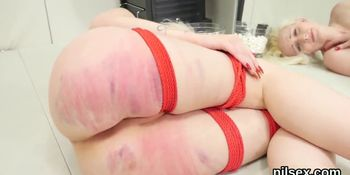 Naughty kitten was brought in anal asylum for uninhibited therapy