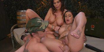 Lesbian anal fisting mix scenes