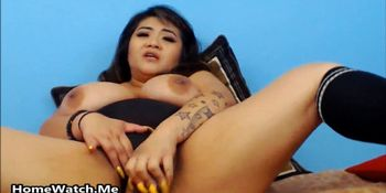 Chubby Asian Nympho Needs A Fat Cock For Her Big Pussy