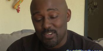 Valerie White pussyfucked by black stepdad