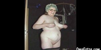 OmaFotzE Hairy Amateur Granny Pussies Closeups