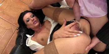 Watersports slut creamed