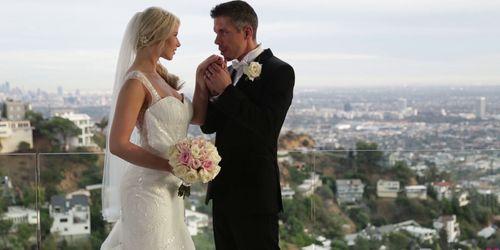 Anikka Albrite's honeymoon porn video