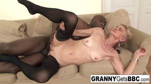 Watch Free Granny Gets BBC Porn Videos