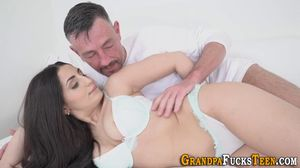 Watch Free GranspaFucksTeen Porn Videos